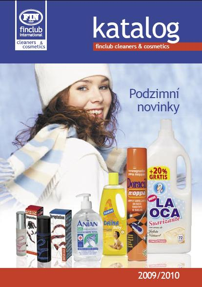 Katalog Finclub Cleaners and Cosmetics